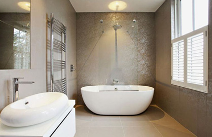 THIS WAY TO YOUR DREAM BATHROOM >