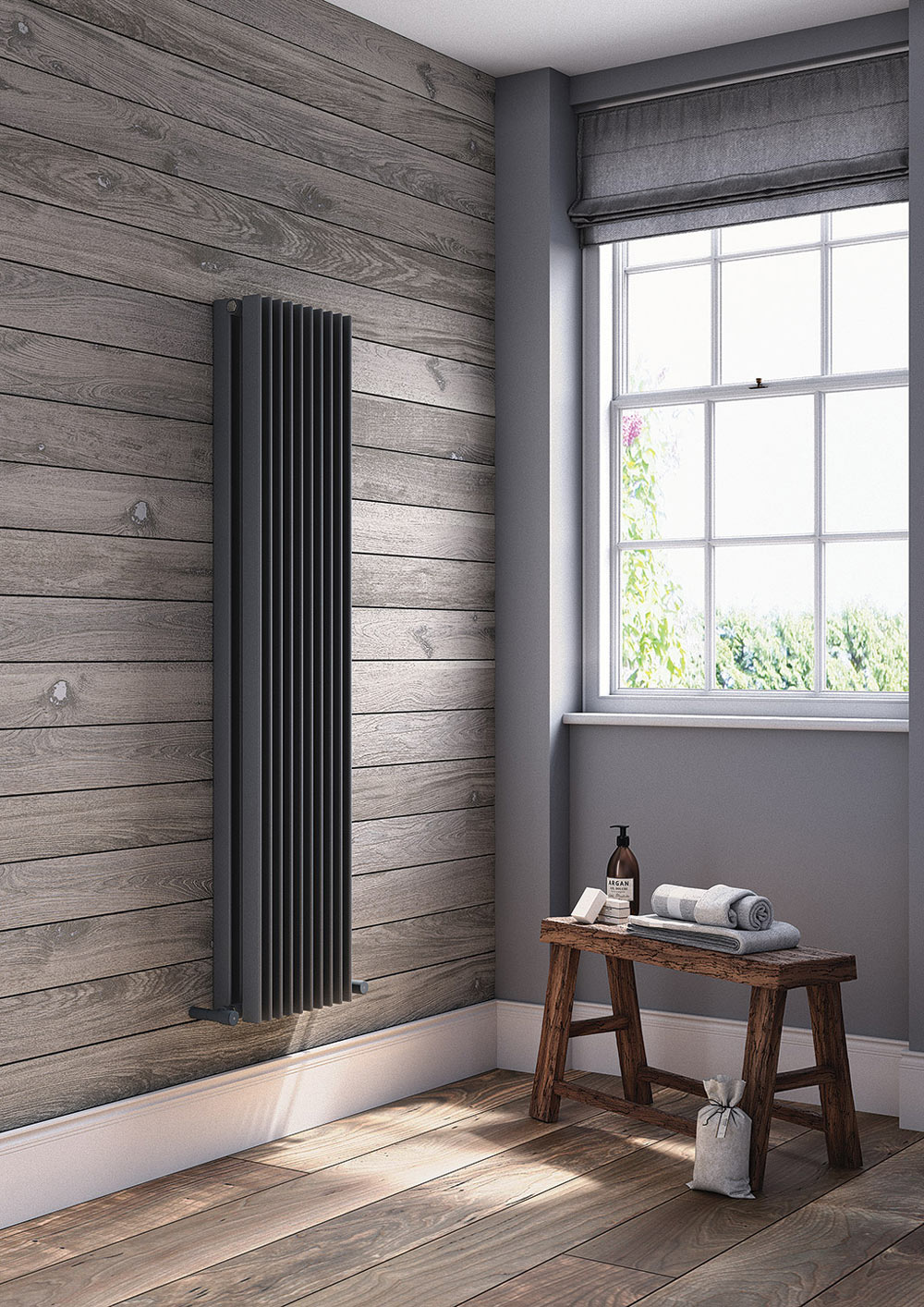 Arezzo Heated Towel Rails Btw Baths Tiles Woodfloors