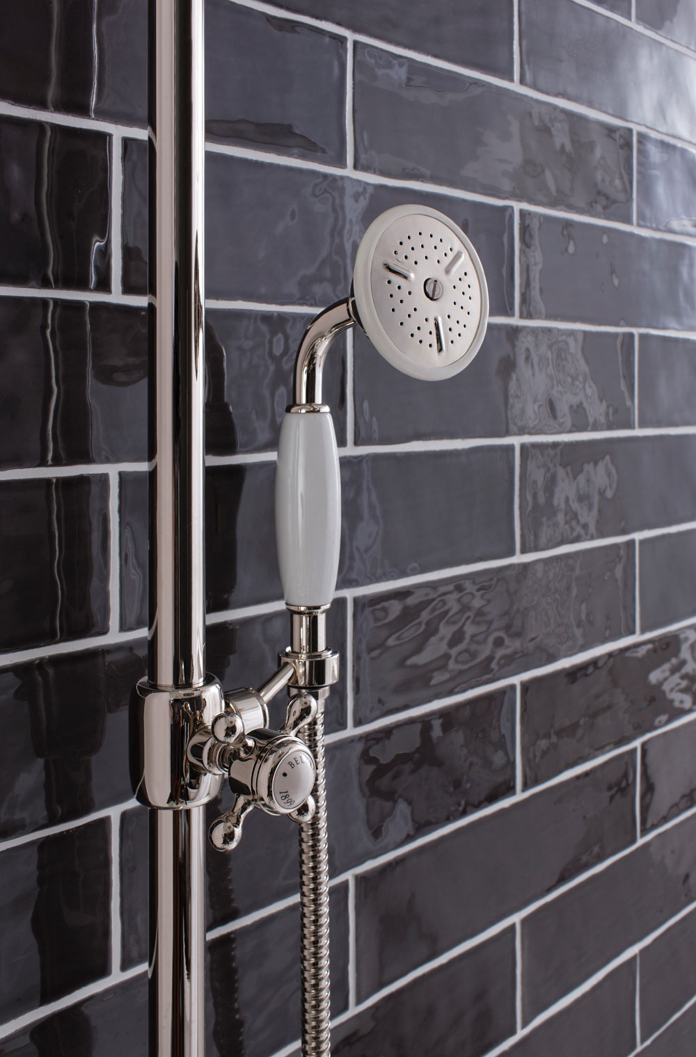 Belgravia Crosshead Digital Showers Btw Baths Tiles
