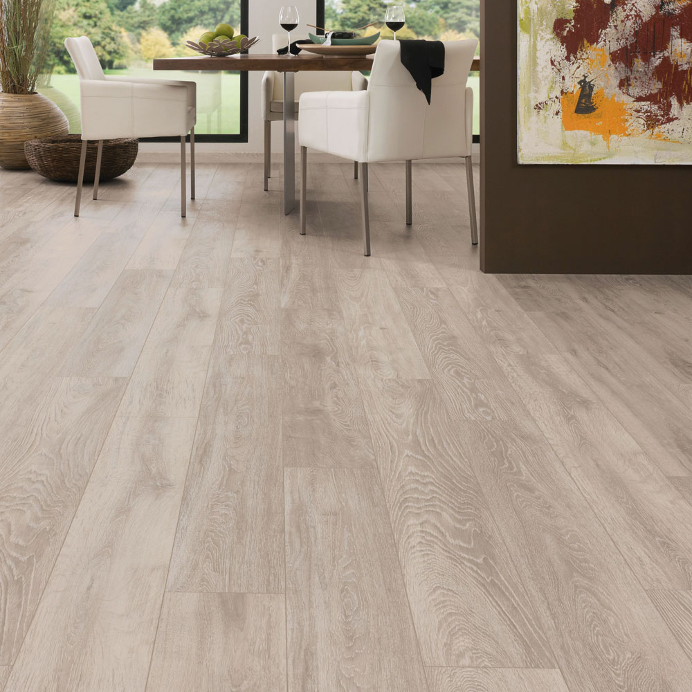 Boulder oak laminate flooring btw baths tiles woodfloors - Laminate or wood flooring ...