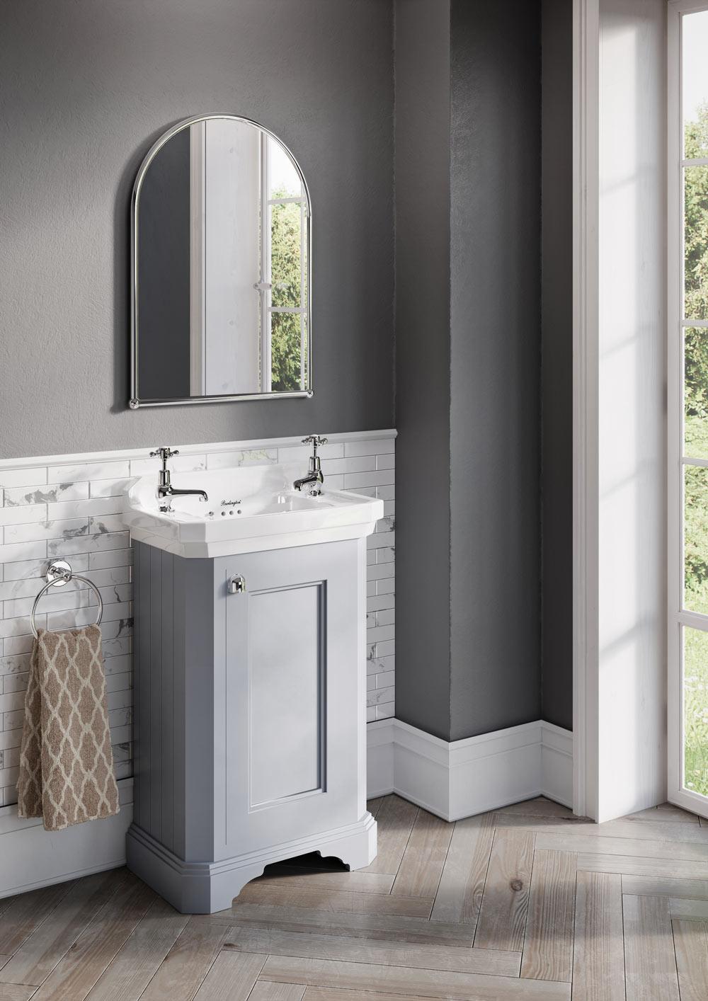 Freestanding Rectangular Cloakrom Vanity Unit Btw