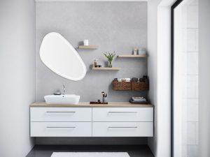 Luna Bathroom Furniture Range