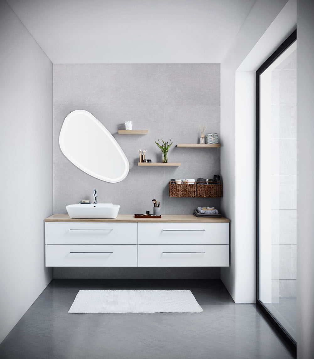 Luna Bathroom Furniture Range Btw Baths Tiles Woodfloors