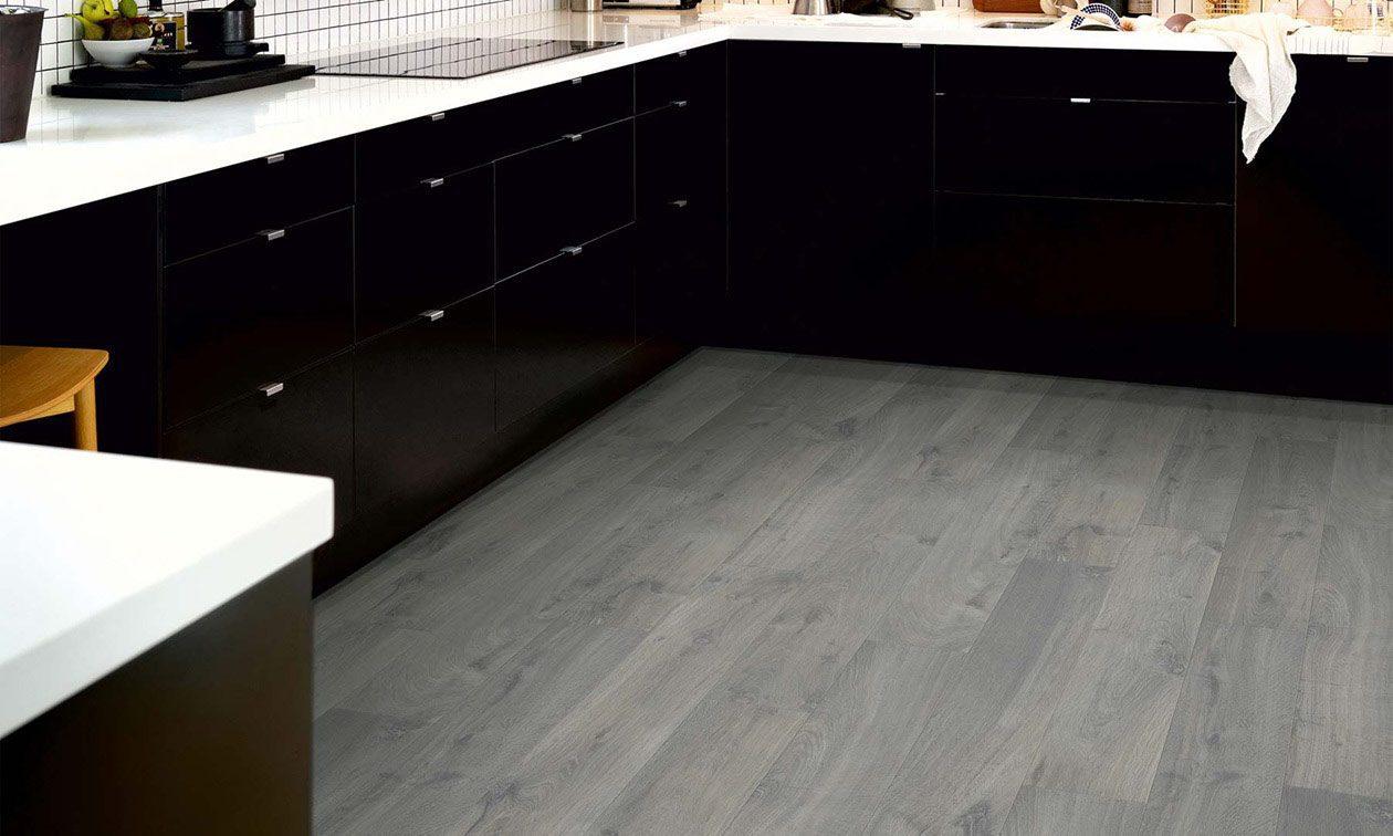 Urban Grey Oak Laminate Flooring Btw Baths Tiles
