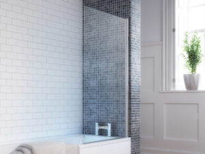 Square Bath Screen