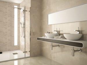Eternal Bathroom Tile Ivory