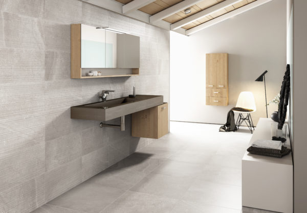 Yorkshire Bathroom Tile Collection Grey